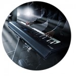 The Roland rd800 Stage Piano