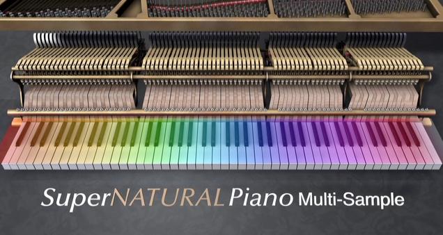 SuperNatural Piano - Multi Sample