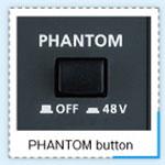 audio interface phantom