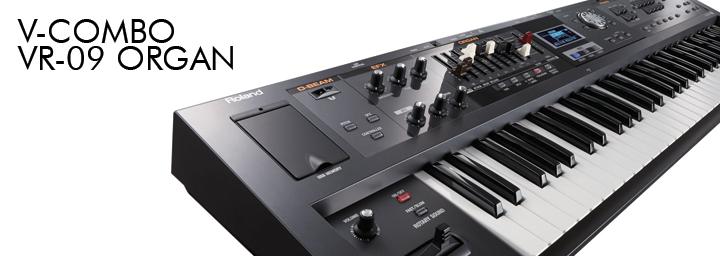 roland v-combo vr-09 organ