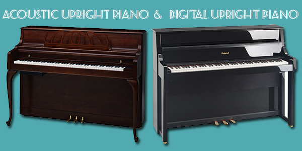 acoustic piano vs digital piano