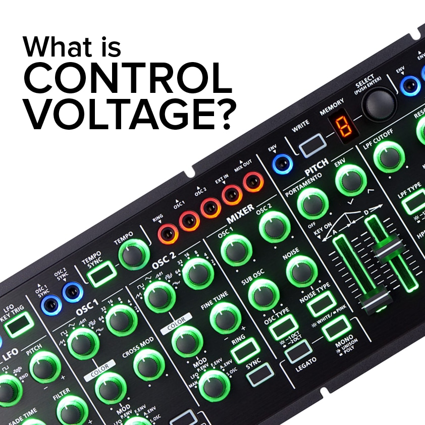 aira modular what is control voltage roland roland  aira modular what is control voltage