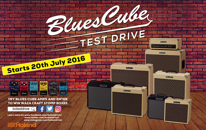 Blues Cube Test Drive