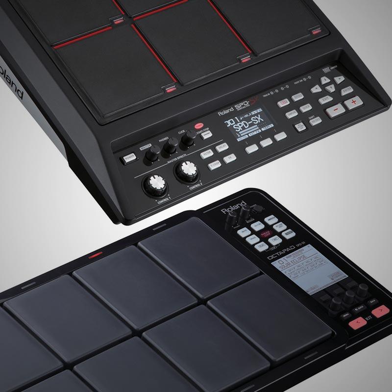 roland spd sx sampling pad vs roland octapad spd 30 roland australia. Black Bedroom Furniture Sets. Home Design Ideas
