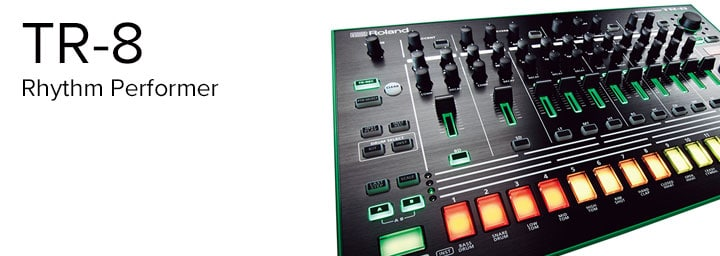 TR-8 and Effects - Part 1: Onboard Effects - Roland Australia