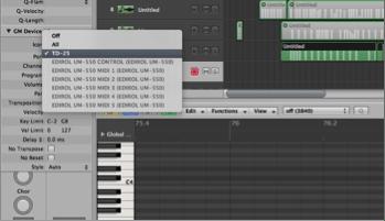 TD-50 Recording