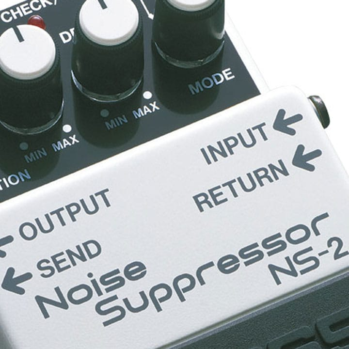 boss noise suppressor hook up