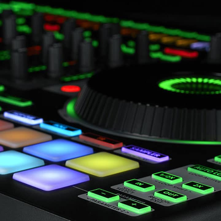 The Roland DJ Controllers 202 505 And 808 Have Received A Powerful Update With Version 110 Firmware It Adds New ACB Drum Sounds To All