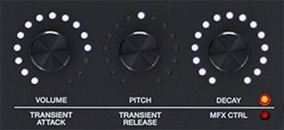 TM-6 Pro transient controls
